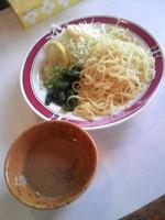 「冷しつけ麺550円」@あづま軒の写真