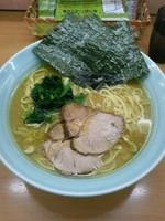 「ラーメン大盛り(麺硬め油多め)850円」@横浜家系ラーメン 二代目 梅家の写真