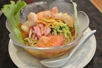 「海老冷やし中華(1050円)」@中国料理 芳蘭の写真