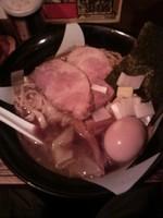 「特製煮干ラーメン大盛り1000円」@すごい煮干ラーメン凪 新宿ゴールデン街店 本館の写真