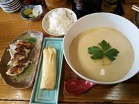 「茶碗蒸しらーめんセット¥900」@丹頂の写真
