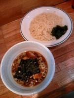 「つけ麺500円」@ラーメン三ちゃんの写真