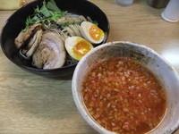 「トマトつけ麺(700円)」@麺処 あずきの写真