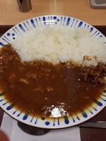 「チキンカレー380円」@すき家 品川東店の写真