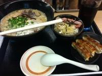 「ふくちゃんランチ【798円】」@博多らぁめん ふくちゃん 千葉幸町店の写真