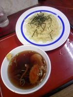 「つけ麺500円」@とんぼ亭の写真