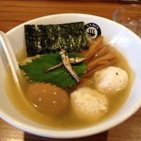 「【限定】冷やしニボシオらーめん 750円」@RAMEN GOTTSUの写真