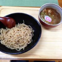 「濃厚つけ麺」@山の駅食堂の写真