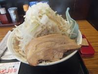 「ふじ麺醤油700円(クーポン500円・脂多&野菜チョイ増)」@優勝軒 柏店の写真