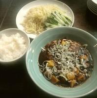 「麻婆豆腐冷麺 小ライス付」@中国小皿料理 MEI MEIの写真