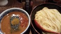 「激辛つけ麺「灼熱」800円」@つけ麺専門店 三田製麺所 なんば店の写真
