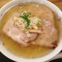 「ちゃあしゅうめん(麺固め)735円」@あじべの写真