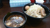 「つけ桜+煮卵  (アブラ、カラメ増し )」@麺や 晴桜の写真