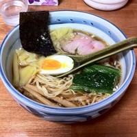 「ワンタン麺(700円?)」@奥州白河ラーメン ○政の写真