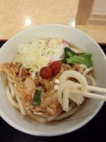 「かき揚うどん350円」@小諸そば 新橋店の写真