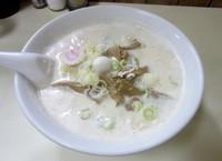 「牛乳ラーメン」@ラーメン万福の写真