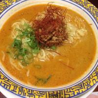 「辛い方の担々麺」@バーミヤン 西東京田無店の写真