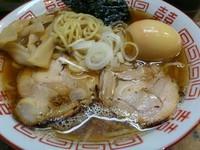 「特選煮干しそば 味玉 ¥750」@九十九里の写真