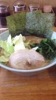 「ランチセット(ラーメン+ライス+餃子) 1000円」@じぇんとる麺の写真