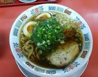 「手もみ魚介そば(太麺)¥600」@もっこす 王子公園店の写真