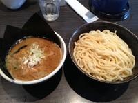 「つけめん中盛り+ぶっこ盛り」@ぶっこ麺らーめんの写真