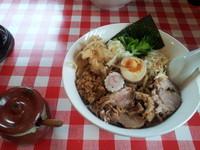 「まぜそば」@らー麺Chopの写真
