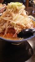 「ラーメン大豚(ヤサイ、濃い目、アブラ)」@G麺ふじもりの写真