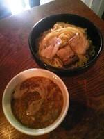 「こってり煮干しつけ麺(大盛)750円」@ひるだけやの写真