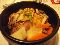 「牛肉ときのこのあんかけ炒飯 【945円】」@風龍 市川店の写真