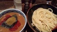 「激辛つけ麺 灼熱 極限並 800円」@つけ麺専門店 三田製麺所 なんば店の写真