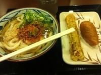 「冷やかけうどん」@丸亀製麺 天王洲アイル店の写真