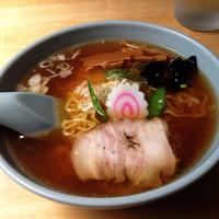 「ラーメン(600円)」@富士屋の写真