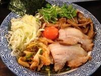 「油そば(キムラ君)」@つけ麺 雀 アメ村本店の写真