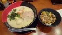 「西海(480円)+トローリ味玉(100円)」@らーめん西海 聖蹟桜ヶ丘店の写真