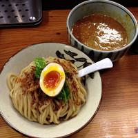 「トマトカレーつけ麺(並240g) ¥900」@銀座 朧月の写真