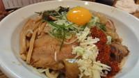 「肉油そば」@ラーメン 月麺の写真