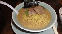 「らーめん+丼」@横浜醤油豚骨ラーメン 銀十の写真