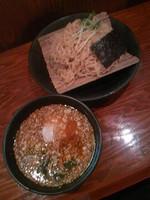 「味噌つけ麺730円+大盛(クーポン)通常100円」@北海道らーめん 麺屋とみ吉の写真