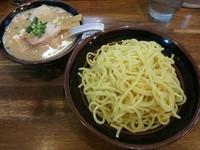 「塩つけ麺(2玉) +味玉:サービスクーポン」@らあめん 塩八の写真