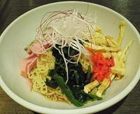 「冷やし中華(細麺・醤油) 800円」@らーめん専門店 いちや 立川店の写真