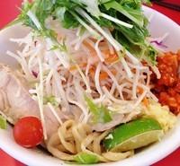 「冷し中華Sio680円 麺少な目」@用心棒 本号の写真