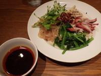 「具沢山の冷やし刀削麺」@京華楼 鶴屋町店の写真