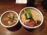 「つけ麺+味玉」@つけ麺 APPLE BASICの写真