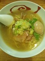 「鶏にぼし塩らーめん(味玉トッピング)」@麺屋 こうじろうの写真