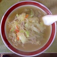 「タンメン(太麺)」@来来来の写真