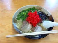 「ラーメン定食」@博多ラーメン 華の写真