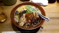 「黒風肉多め」@麺工房 風の杜の写真
