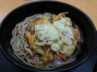 「かき揚げそば(370円)」@かわさき蕎麦の写真