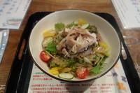 「冷しゃぶサラダの冷潮らあめん」@麺道 しゅはり 六甲道本店の写真
