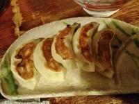 「鶏餃子(5個)\430」@麺・酒処 ぶらりの写真